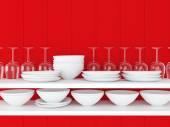 Keramische keukengerei. — Stockfoto