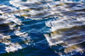 Water with sky reflection — Stock Photo
