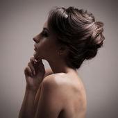 Beautiful Brunette Woman — Stock Photo