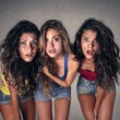 Three friends together — Stock Photo #53772455