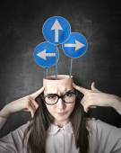 Which direction should I take? — Stock Photo