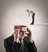 What's in your head? — Stock Photo