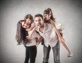 A great family — Foto de Stock