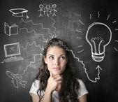 Many ideas altogether — Foto de Stock