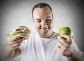 Healthy or not? — Stock Photo