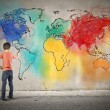 Colorful planet — Stock Photo #69329951