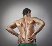Lumbar pain — Stock Photo