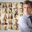 Young manager — Stock Photo #73954703