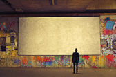 Blank wall — Foto de Stock