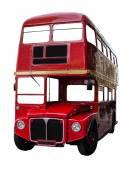 Isolated London Bus — Stock Photo