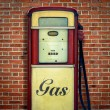 Retro Vintage Gasoline Pump — Stock Photo #58241977