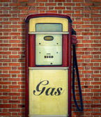 Retro Vintage Gasoline Pump — Stock Photo