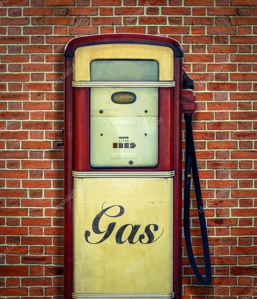 retro vintage gasoline pump stock photo mrdoomits 58241977. Black Bedroom Furniture Sets. Home Design Ideas
