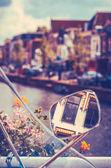 Holland Canal Scene — Stock fotografie