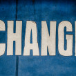 Conceptual Change Sign — Stock Photo #63857955