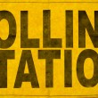Polling Station Sign — Stock Photo #70632237