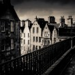 Black And White Edinburgh — Stock Photo #70697905