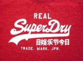 Superdry Clothes Tags — Stock Photo