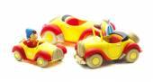 Three Noddy Cars  — Stock Photo