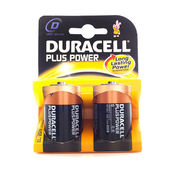 Duracell C Cell Batteries — Foto Stock