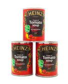 Three  Heinz Tomato Soup — Stock Photo