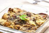 Mushroom filling called houbovec (Czech cuisine) — Stock Photo