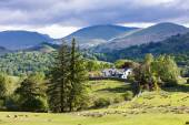 Landscape of Lake District, Cumbria, England — Stock Photo