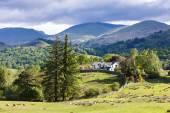 Landscape of Lake District, Cumbria, England — Stock Photo