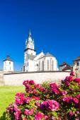 Castle and church of Saint Catherine, Kremnica, Slovakia — Stock Photo