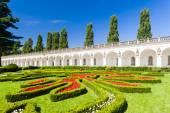 Flower garden of Kromeriz Palace, Czech Republic — Stock Photo