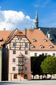 Complex of medieval houses called Spalicek, Cheb, Czech Republic — Stock Photo