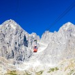 Cable car to Lomnicky Peak, Vysoke Tatry (High Tatras), Slovakia — Stock Photo #52529643