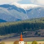 Fortified church in Liptovske Matiasovce, Slovakia — Stock Photo #52531851