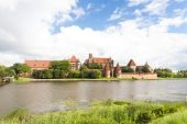 Malbork, Pomerania, Poland — Stock Photo