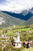 Filisur, canton Graubunden, Switzerland — Stock Photo