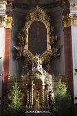 Intérieur de l'église de Saint-giles, old town, prague, tchèque republi — Photo