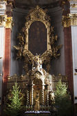 Interior of church of St Giles', Old Town, Prague, Czech Republi — Stock Photo