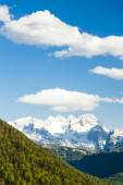 View to Dachstein from the west, Upper Austria-Styria, Austria — Stock Photo