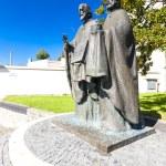 Statue of Saints Cyril and Methodius, Nitra, Slovakia — Stock Photo #56292667