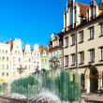 Main Market Square, Wroclaw, Silesia, Poland — Stock Photo #56299811