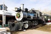 Vloeien voort locomotief in colorado spoorweg museum, verenigde staten — Stockfoto