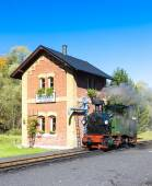 Steam locomotive,  Germany — Stock Photo