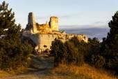 Ruinas del castillo de cachtice — Foto de Stock