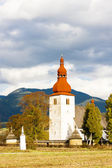 Fortified church in Liptovske Matiasovce — Stockfoto