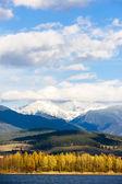 Liptovska Mara with Western Tatras — Stok fotoğraf