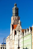 St Elisabeth''s Church, Main Market Square, Wroclaw, Silesia, Po — Stock Photo