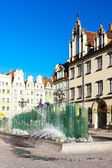 Main Market Square, Wroclaw, Silesia, Poland — Stock Photo