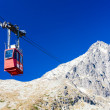Cable car to Lomnicky Peak, Vysoke Tatry (High Tatras), Slovakia — Stock Photo #57915037