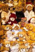 Plush toys — Zdjęcie stockowe