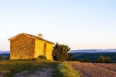 Chapel, Plateau de Valensole, Provence, France — Stock Photo